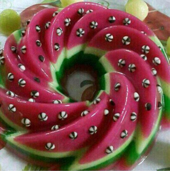 ژله هندوانه ویژه شب یلدا