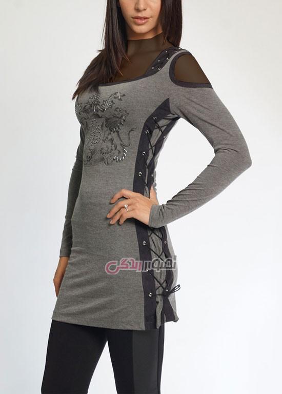 مدل لباس پاییزی زنانه, مدل تونیک پاییزی