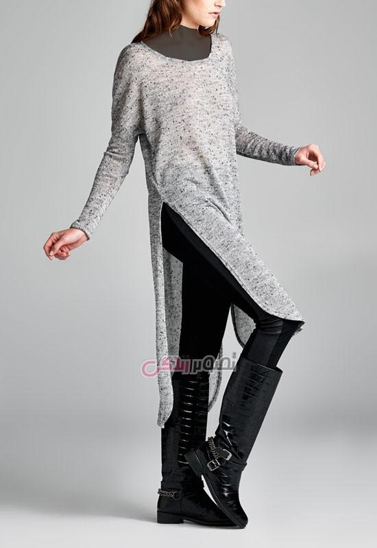مدل لباس پاییزی زنانه, مدل تونیک بلند پاییزی