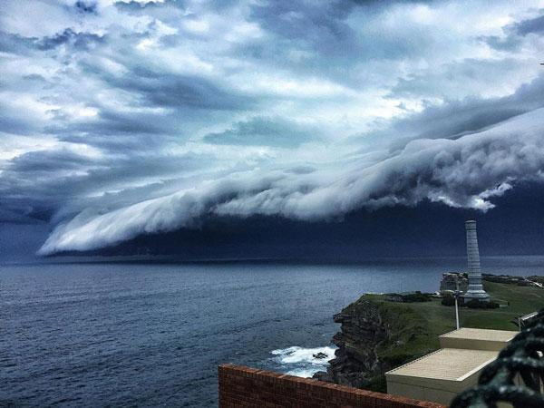 سونامی ابر در آسمان سیدنی