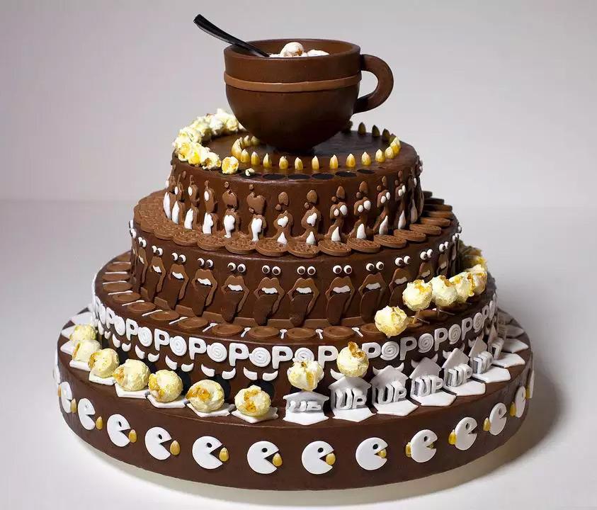 جالبترین کیک - کیک انیمیشنی -caketropes