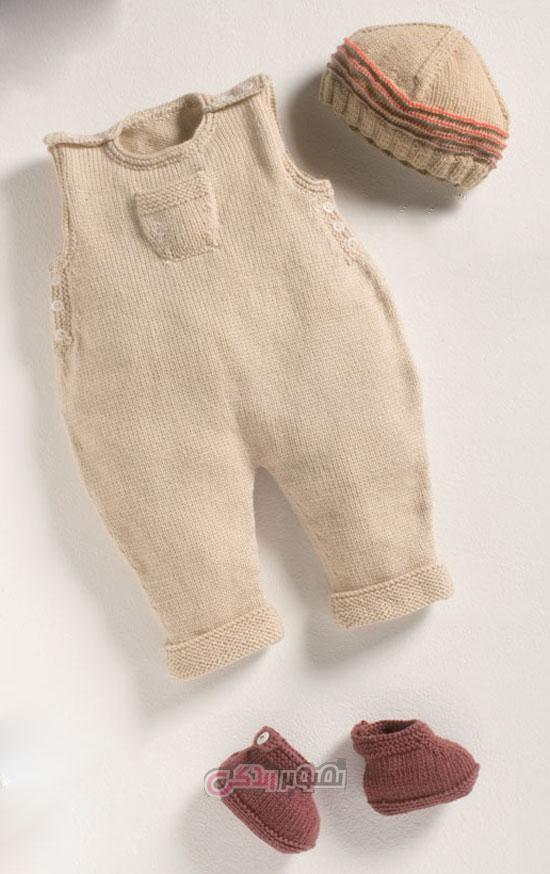 مدل سرهمی بافتنی - لباس بافتنی - لباس بچگانه زمستانی