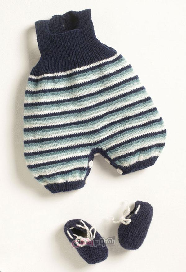 لباس دست باف بچگانه - لباس بافتنی - لباس بچگانه زمستانی