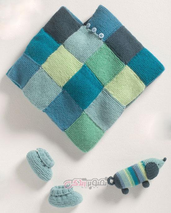 مدل جلیقه بچه ست لباس بافتنی بچگانه / لباس نوزاد دستباف - مجله تصویر زندگی