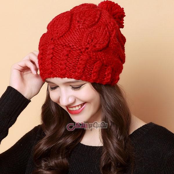 مدل کلاه زنانه بافتنی - کلاه دستباف زنانه