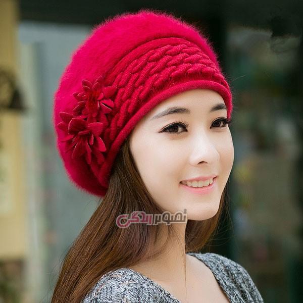 اموزش جدیدترین مدل شال و کلاه بافتنی دخترانه