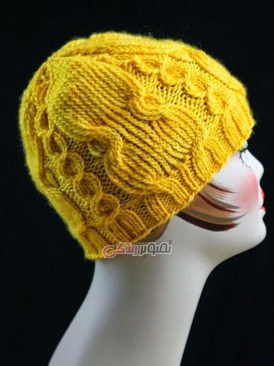 مدل کلاه بافتنی , کلاه بافتنی زنانه