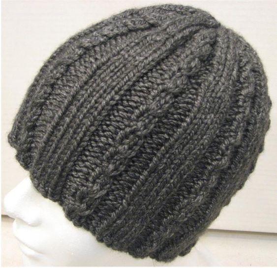 کلاه بافتنی خاکستری