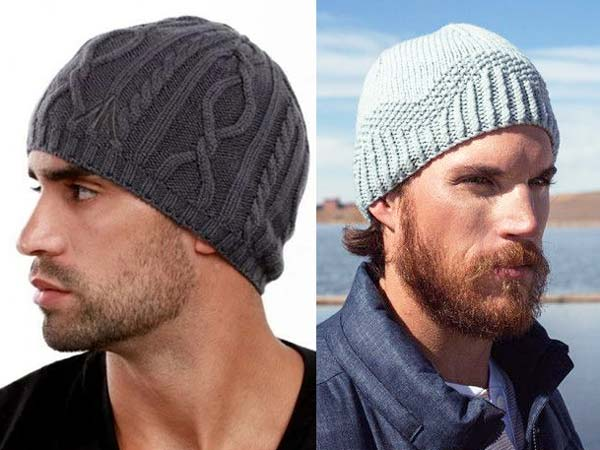 کلاه میل بافی مردانه