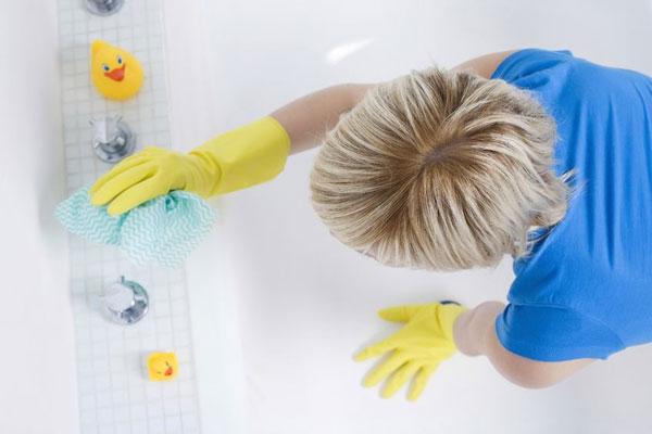 روش های شستشوی وان حمام