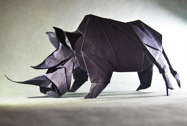 اوریگامی های ﺑﻰنظیر گونزالو گارسیا