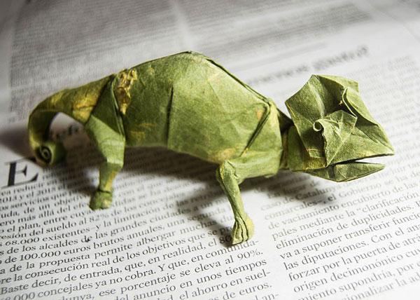 اوریگامی - اوریگامی های زیبا - گونزالو گارسیا