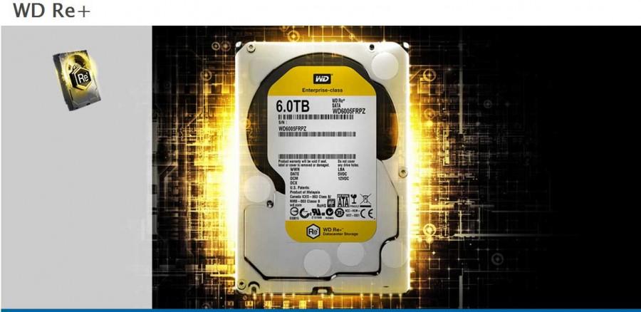 تفاوت رنگ هارد دیسک ، هارد دیسک سری زرد +re وسترن دیجیتال