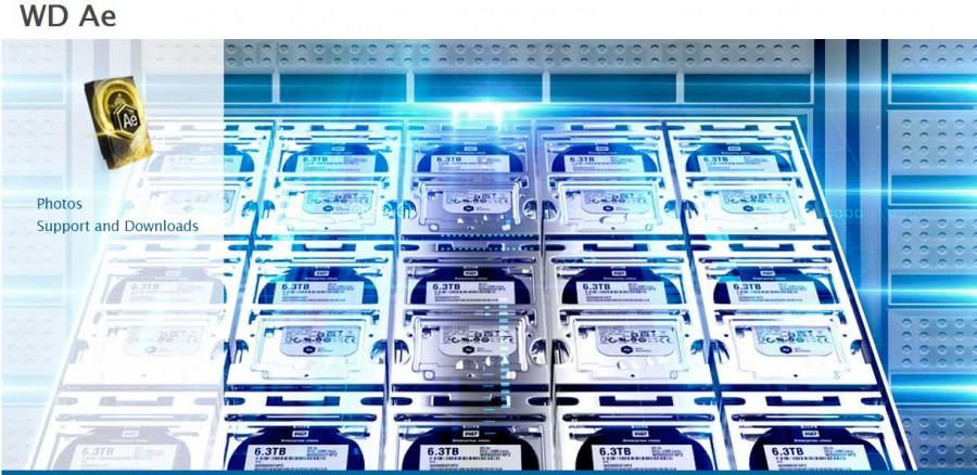 تفاوت رنگ هارد دیسک ، هارد دیسک سری Ae وسترن دیجیتال
