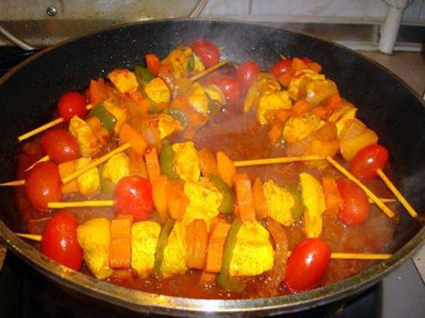 طرز تهیه کباب حسینی با گوشت گوسفند و مرغ