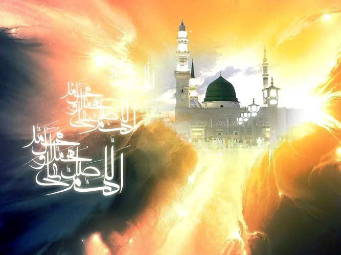 کارت تبریک میلاد حضرت محمد