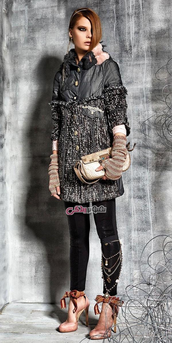 مدل پالتو دخترانه , مدل لباس پاییزه و زمستانی