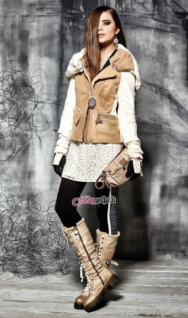 مدل کاپشن و پالتو زنانه برند Daniela Dallavalle