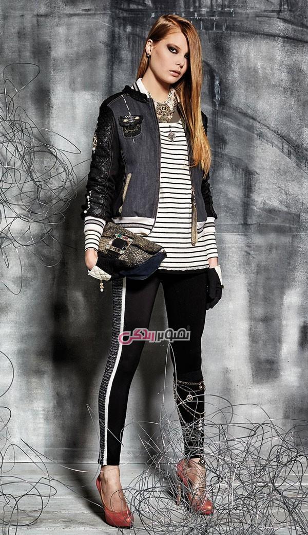 مدل کاپشن دخترانه , مدل لباس پاییزه و زمستانی