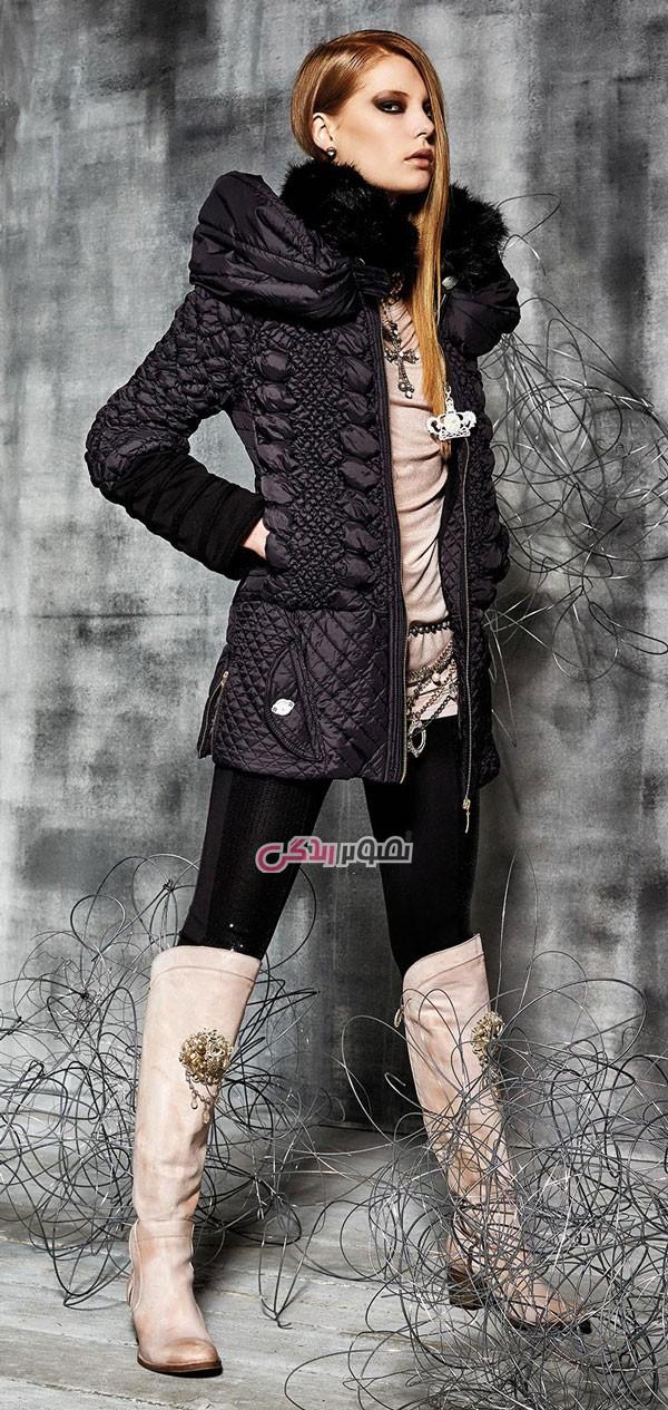 مدل پالتو دخترانه , مدل کاپشن و پالتو زنانه برند Daniela Dallavalle
