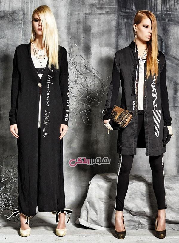 مدل کاپشن و پالتو زنانه برند Daniela Dallavalle , مدل لباس پاییزه و زمستانی