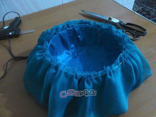 درست کردن کلاه عروس , ساخت کلاه مجلسی