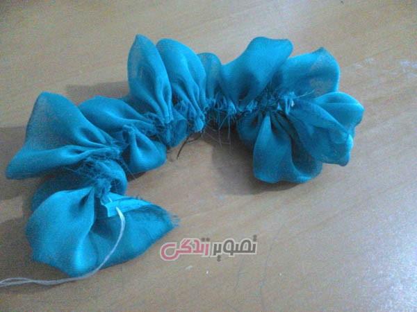 آموزش هنرهای دستی  , آموزش ساخت کلاه عروس / کلاه مجلسی