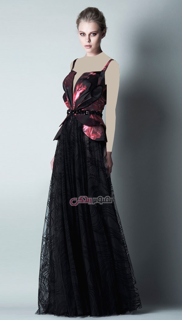 مدل لباس مجلسی, پیراهن بلند مجلسی, مدل لباس شب