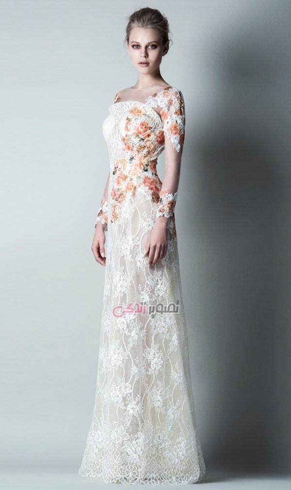 مدل لباس عروس - پیراهن بلند مجلسی