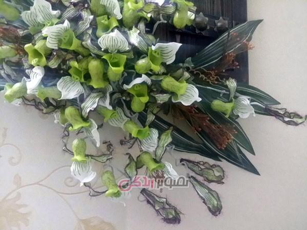 آموزش گل سازی  , آموزش ساخت دسته گل خمیری زیبا