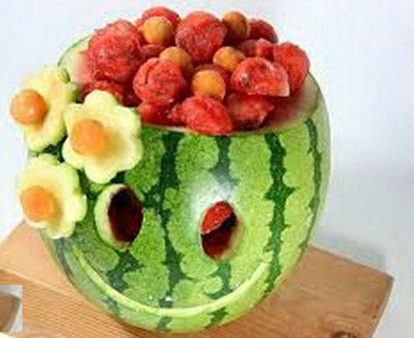 میوه آرایی شب یلدا - تزیین میوه - سفره یلدا