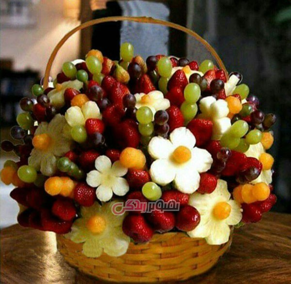 میوه آرایی شب یلدا , تزیین سفره شب چله