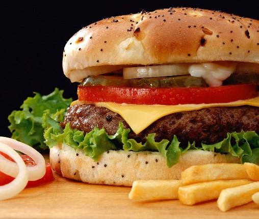 همبرگر خانگی , همبرگر پیار , Homemade onion burgers