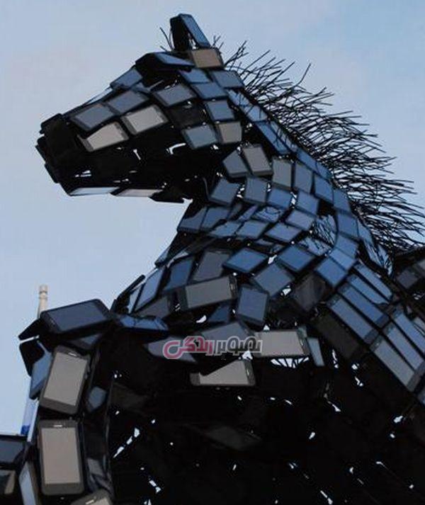 شرکت هواوی , Huawei , مجسمه اسب