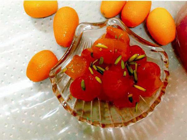 طرز تهیه مربای کامکوات
