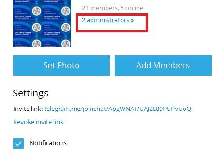تغییرات نسخه جدید تلگرام