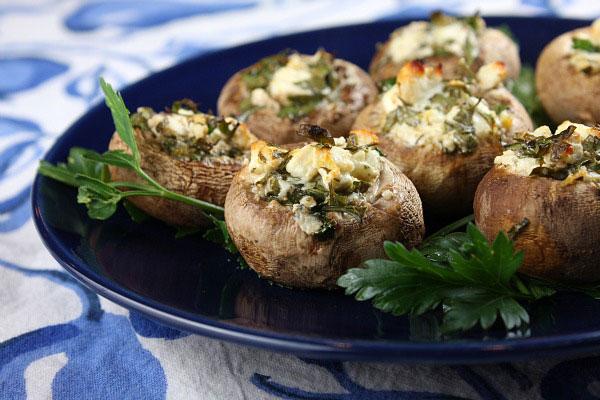 فست فود  , تهیه قارچ شکم پر به سه روش