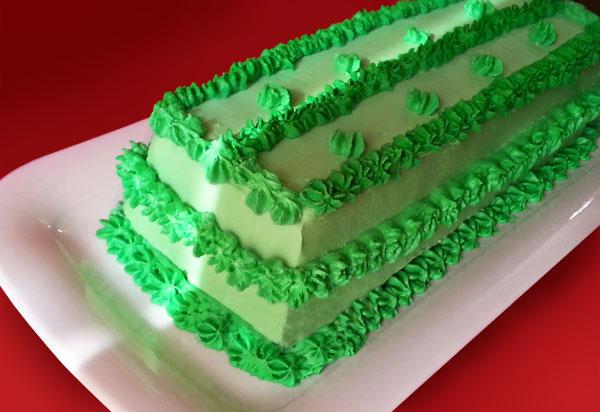 طرز تهیه کیک ژله هندوانه ای