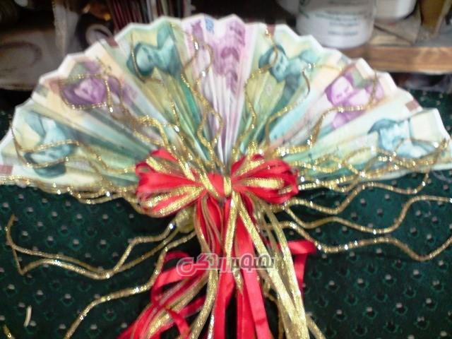 تزئین گل برای شاباش عروس