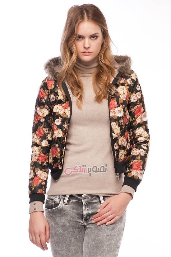 مدل کاپشن زنانه , مدل لباس زمستانی زنانه