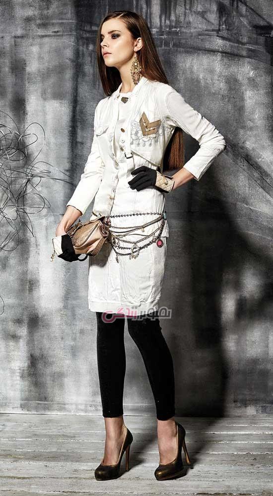 مدل مانتو پاییزی - مدل لباس زنانه