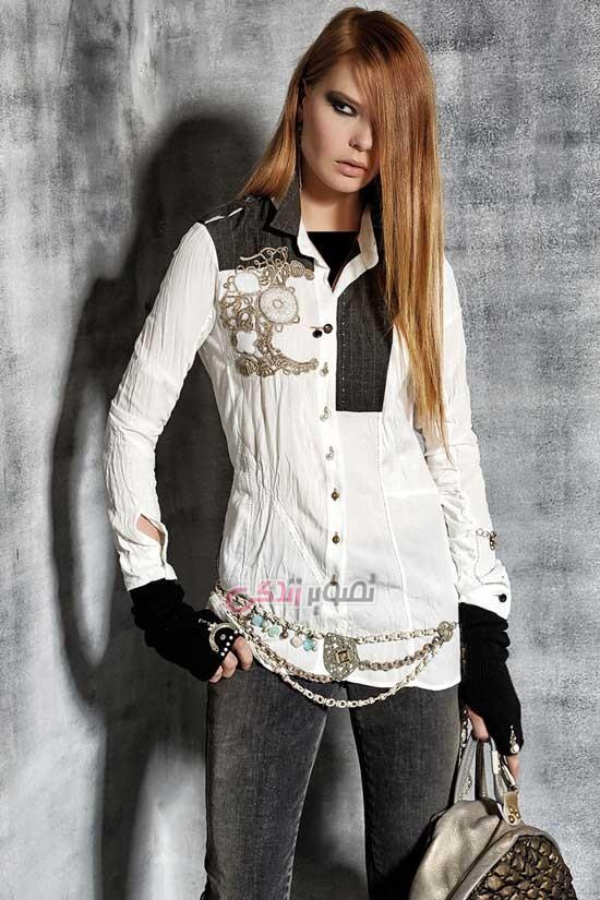 مدل لباس پاییزی - مدل بلوز زنانه