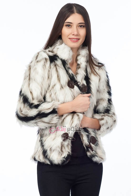 مدل کاپشن زنانه - مدل کاپشن دخترانه - مدل کت خز زمستانی