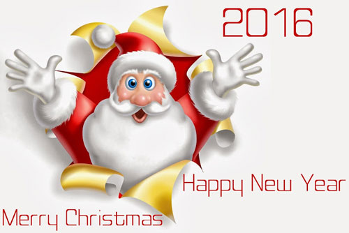 کارت تبریک جدید برای کریسمس 2016 , کارت پستال کریسمس