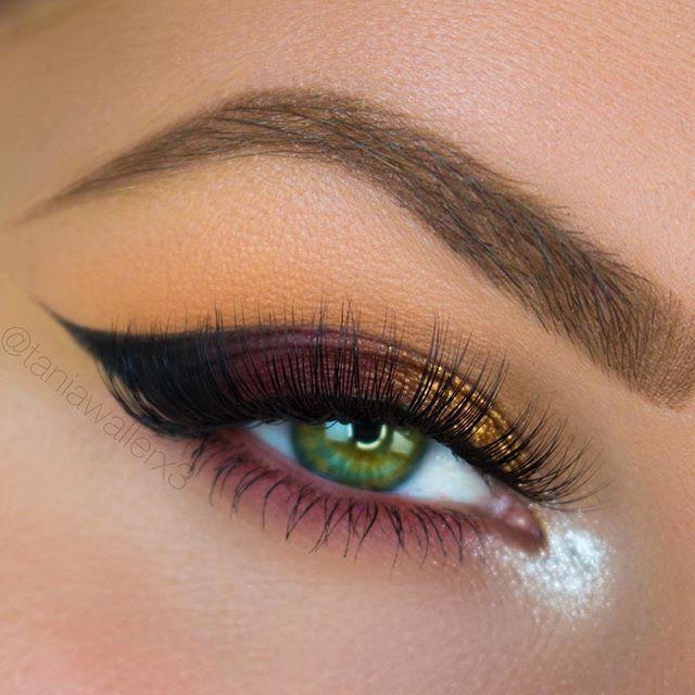 مدل آرایش برای چشم - مدل سایه زدن - مدل خط چشم