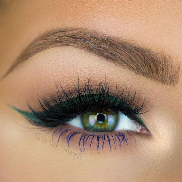 آرایش و میکاپ چشم - مدل سایه چشم