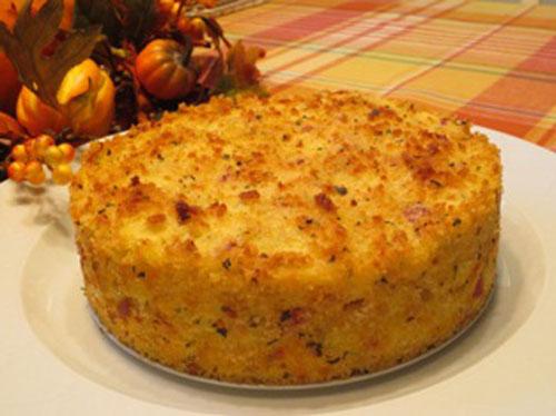 کیک سیب زمینی و سوسیس