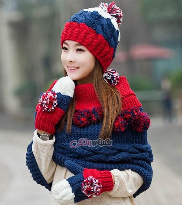 مدل لباس زنانه مدل لباس,کیف,کفش,جواهرات  , مدل شال و کلاه دخترانه بافتنی