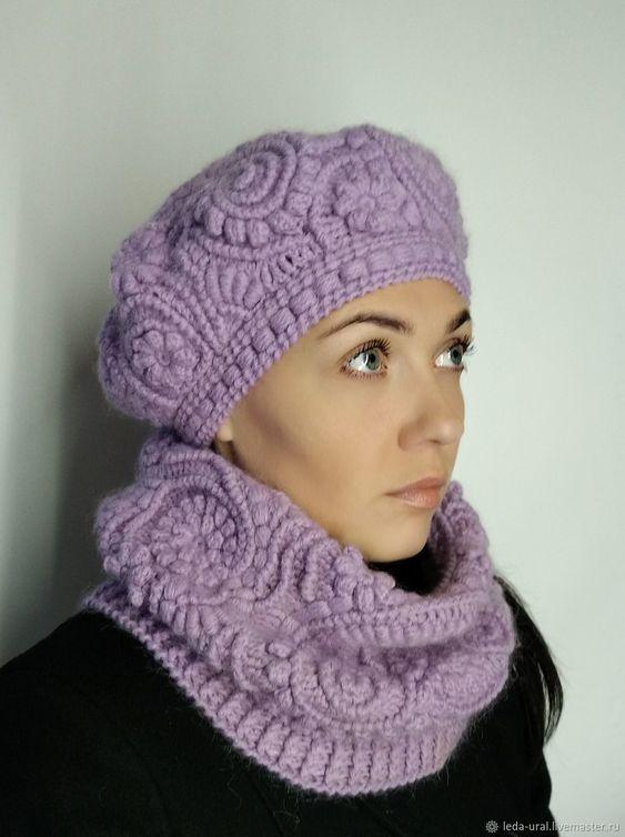 عکس مدل شال و کلاه زنانه یاسی