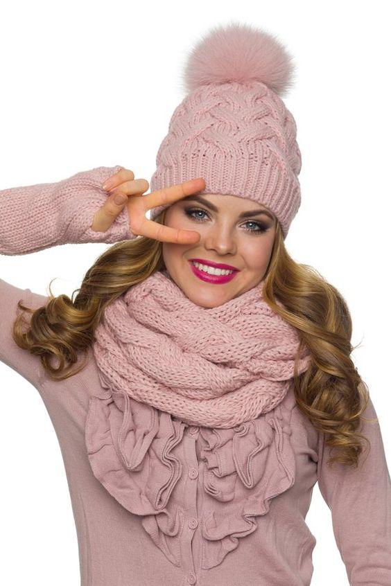 عکس مدل شال و کلاه زنانه